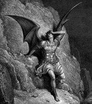 Lúcifer, de Gustave Doré, para a obra O Paraíso Perdido, de John Milton