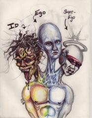 O Ego se disfarça de Eu Superior e Eu Inferior