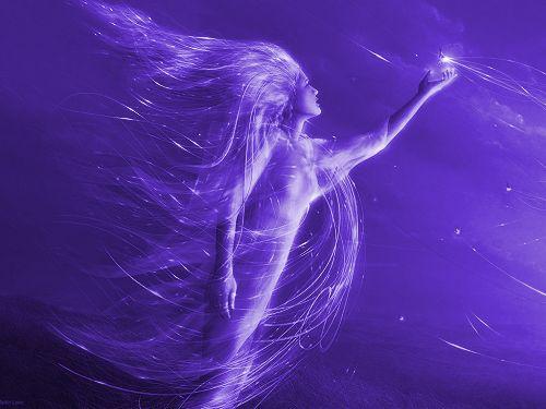 A ametista pertence ao poderoso Raio de Netuno, senhor do magia
