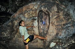 pe-gigantes-encontrado-na-caverna-de-Naihehe-na-ilha de Sigatoka-Arquipelado-de-Fiji