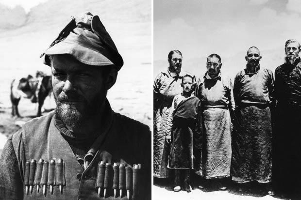 Ernst Schäfer, chefe da expedição nazista ao Tibet de 1938-1939