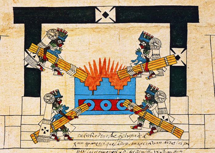 O Festival do Fogo Novo entre os astecas