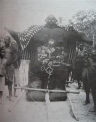 Representação africana dos gigantes do passado