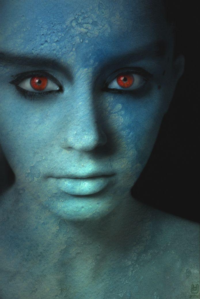 homem-azul
