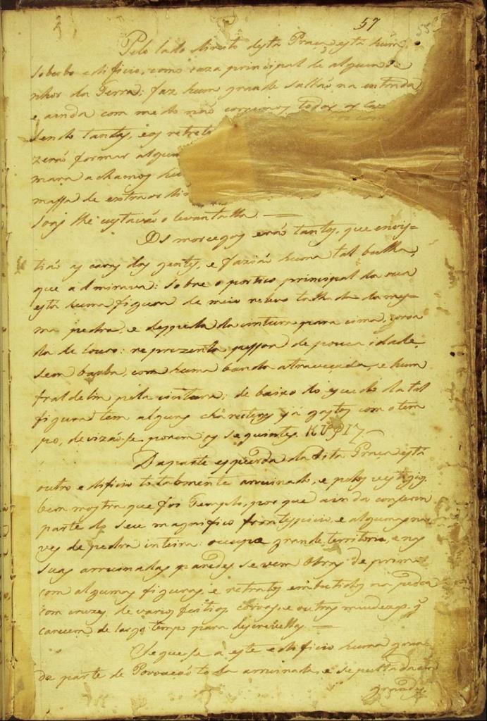 O Manuscrito nº 512 é um texto da época do Brasil Colonial e encontra-se na Biblioteca Nacional do Rio de Janeiro